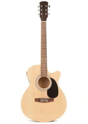 Fortissimo SAG Semi-Acoustic Guitar