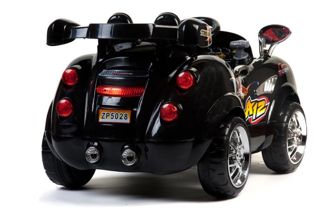 12v 2 places morgan noir voiture lectrique pour enfant. Black Bedroom Furniture Sets. Home Design Ideas