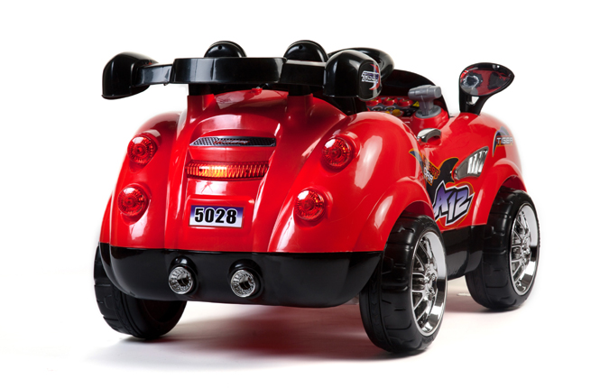 12v zweisitzer morgan rot elektroauto f r kinder elektro. Black Bedroom Furniture Sets. Home Design Ideas