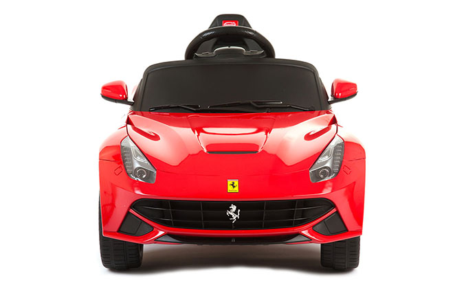 6v ferrari f12 rot elektroauto f r kinder elektro. Black Bedroom Furniture Sets. Home Design Ideas