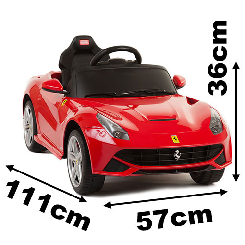 ferrari f12 sous licence 6v voiture lectrique pour enfant. Black Bedroom Furniture Sets. Home Design Ideas